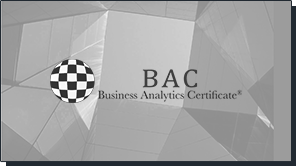 Business Analytics Certificate, Madrid. Diseño de web de presentación de curso online. Wordpress. Responsive design.